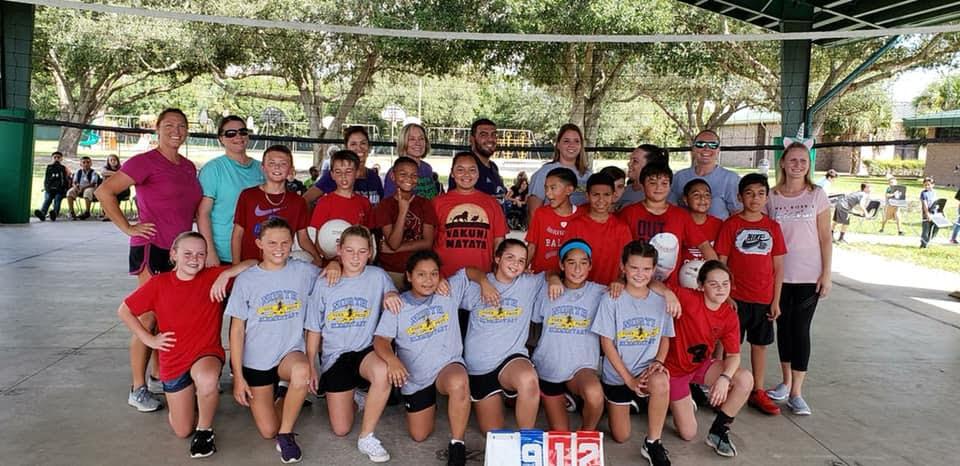 5th Grade vs. Teachers Volleyball 10/12/18